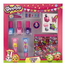 Shopkins Nail Lip Hair Beauty Set