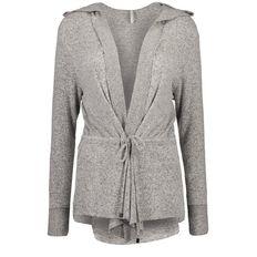 Maya Brushed Hooded Cardigan