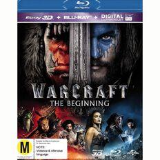 Warcraft The Beginning 3D Blu-ray 2Disc