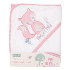 Rocco And Tolly Forest Friends Plush Hooded Towel