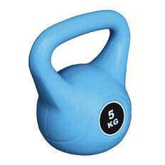 Basics Brand Plastic Kettlebell 5kg