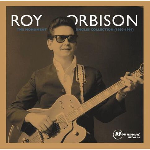 The Monument Singles Collection by Roy Orbison 2CD & 1DVD