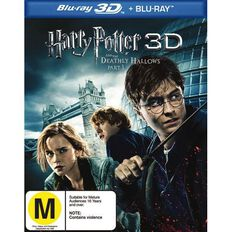Harry Potter And The Deathly Hallows Part 1 Blu-ray +3D Blu-ray 2Disc