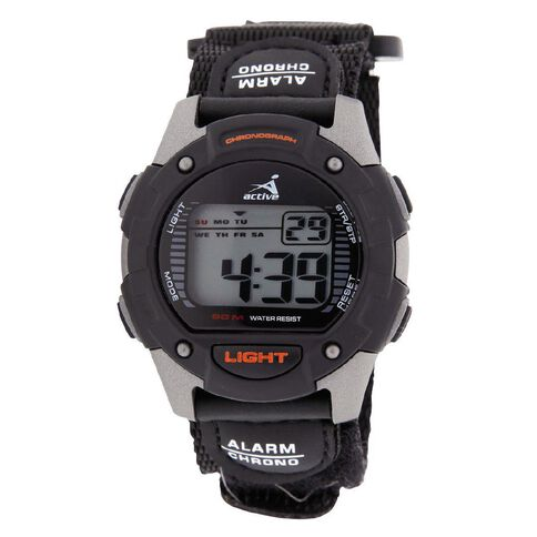 Active Intent Watch Men's Digital Black