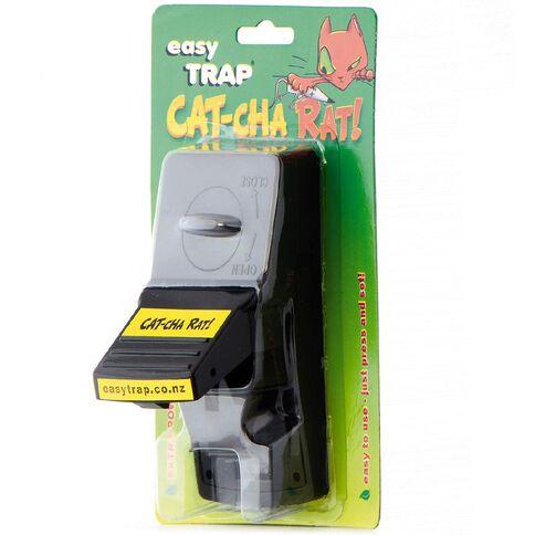 Easy Trap Catcha Plastic Rat Trap 1 Pack