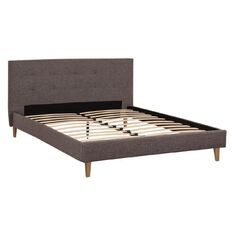 Reside Denver Fabric Queen Bed Frame