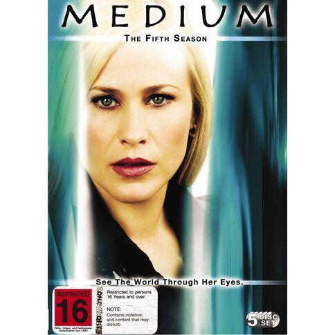 Medium Season 5 DVD 5Disc