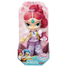 Fisher-Price Shimmer & Shine Deluxe Soft Talking Doll Assorted