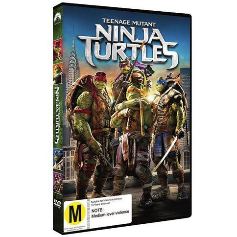 Teenage Mutant Ninja Turtles DVD 1Disc
