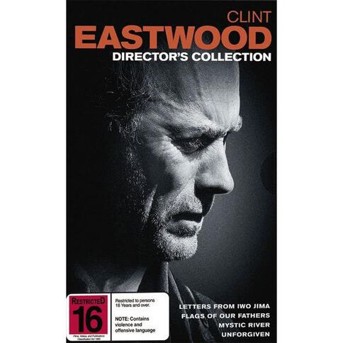 Clint Eastwood Directors Collection DVD 4Disc