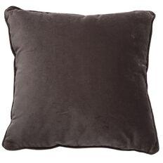 Elemis Onyx Cushion Linen Velvet Black 43cm x 43cm