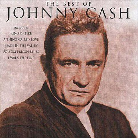 The Best Of CD by Johnny Cash 1Disc