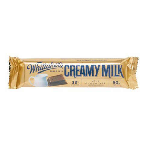 Whittaker's Creamy Milk Chunk 50g