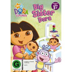 Dora The Explorer Big Sister Dora DVD 1Disc