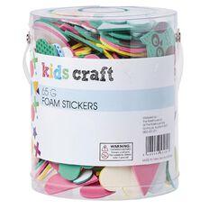 Kids' Art & Craft Foam Stickers 65G