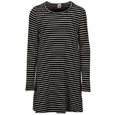A'nD Long Sleeve Knit Stripe Dress