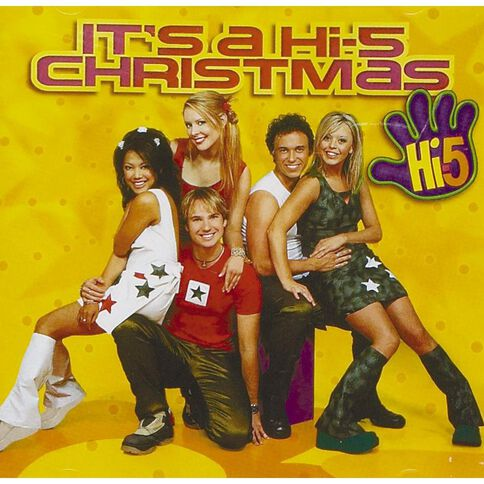 Its A Hi-5 Christmas CD by Hi-5 1Disc