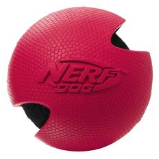 NERF Dog Wrapped Classic Tennis Ball Red 3 inch Medium