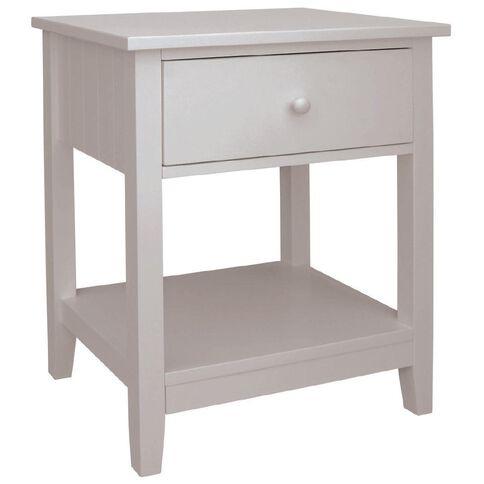Kids Caboodle Glacier 1 Drawer Bedside Cabinet
