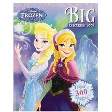 Disney Frozen Big Colouring Book