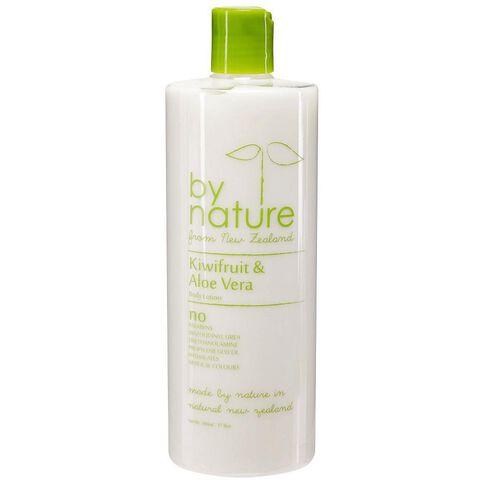 By Nature Body Lotion Kiwifruit/Aloe Vera 500ml