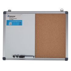 Deskwise Magnetic Combo Board 370mm x 490mm