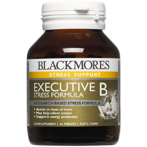 Blackmores Executive B Stress Formula 62s