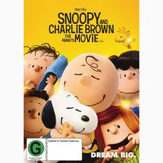 Snoopy and Charlie Brown The Peanuts Movie DVD 1Disc