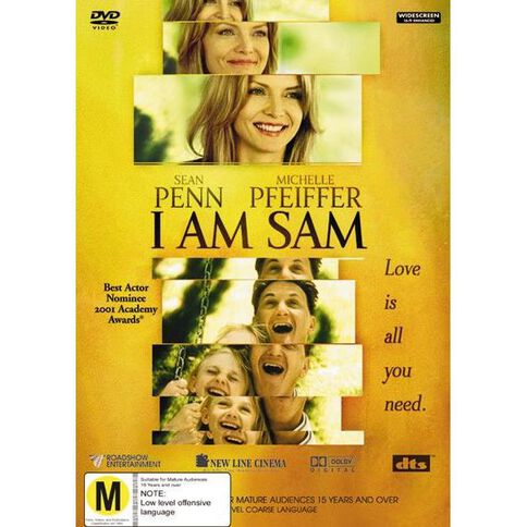 I Am Sam DVD 1Disc