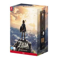 Nintendo Switch Legend of Zelda Breath of the Wild Limited Edition