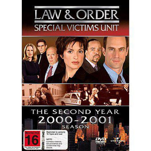 Law & Order Special Victims Unit Season 2 DVD 6Disc