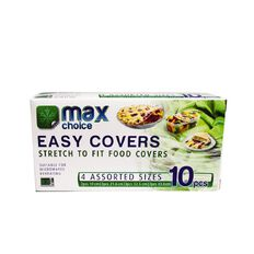 Max Choice Easy Food Covers Assortment 10 Pack