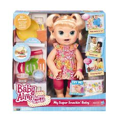 Baby Alive Super Snackin' Baby