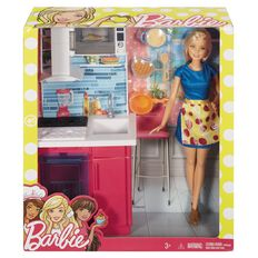 Barbie Room & Doll Giftset Assorted