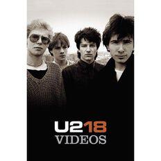 U2 18 Videos DVD 1Disc