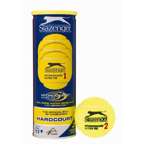 Slazenger Hard Court Tennis Ball 3 Pack