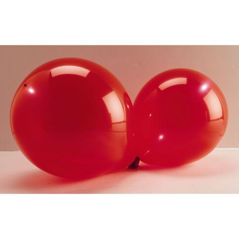 Light up Balloons LED Red 5 Pack