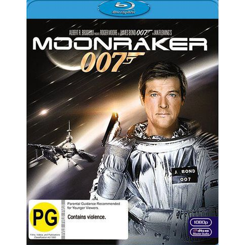 Moonraker 2012 Version Blu-ray 1Disc