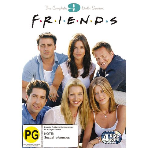 Friends Season 9 DVD 4Disc