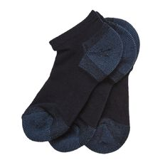 Bonds Kids' Tough Low Cut School Socks 3 Pack