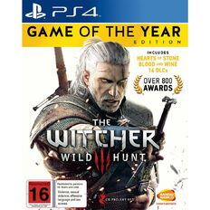 PS4 The Witcher 3 Game of The Year