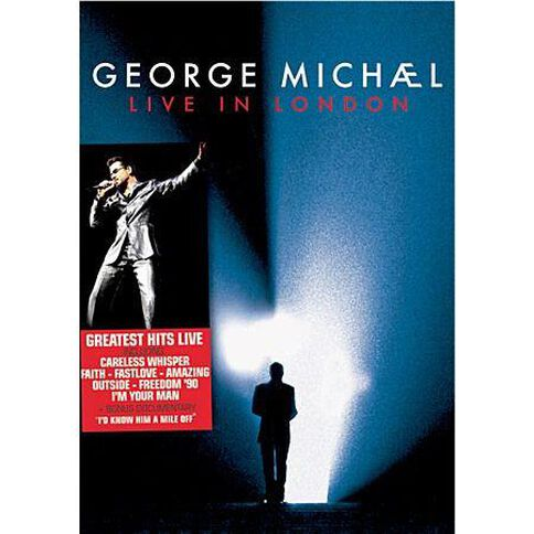George Michael Live in London DVD 2Disc