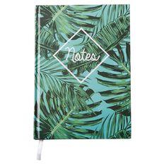 Paper Scissors Rock Notebook Hardcover Tropical A5