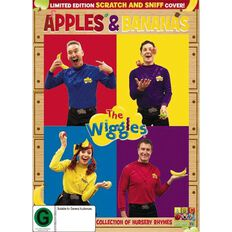 The Wiggles Apples and Bananas DVD 1Disc