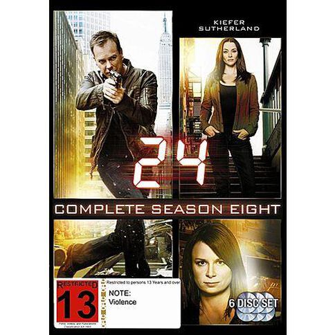 24 Season 8 DVD 6Disc