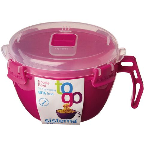 Sistema To Go Noodle Bowl Assorted Colours