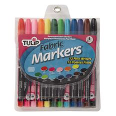 Tulip Fabric Markers 12 Pack