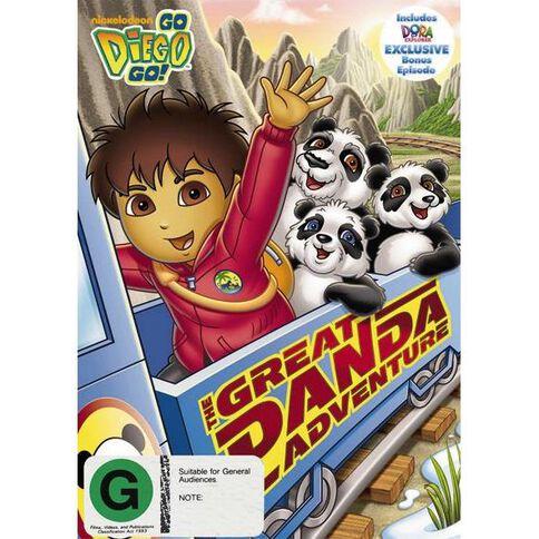 Go Diego Go The Great Panda Adventure DVD 1Disc