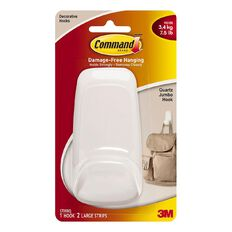 Command Quartz Jumbo Hook