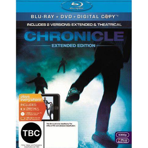 Chronicle Blu-ray 2Disc